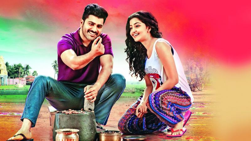 still from a movie Shatamanam Bhavati