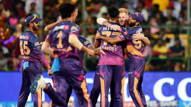 Rising Pune Supergiant successfully defended 161-run target as hometeam Royal Challengers Bangalore lost the match by 27 runs. (Photo: PTI)