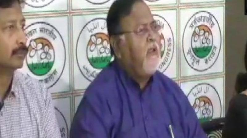 'Two days back, in Gangarampur, they had hit police officials. BJP leaders sitting in Delhi and are not understanding the situation of the state,' Chatterjee said. (Photo: ANI)