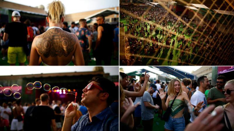 Sonar Musical Festival is wear cutting-edge artists meet. (Photo: AP)