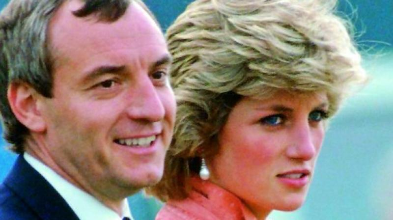 Diana is believed to have been in love Barry Mannakee, an officer in the royal protection squad who later died in a motorcycle accident.