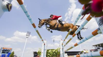 The riding world celebrates the World Equestrian Festival CHIO in Aachen every year.(Photo: AP)