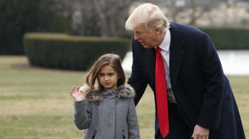 Xi Jingping praised Donald Trump's granddaughter for her progress in mastering Mandarin. (Photo: AP)