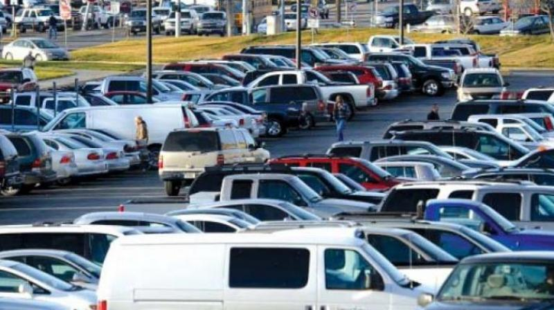 This was being done only to curb the parking of vehicles by persons other than the visitors in its premises and from misusing the parking space, the mall management'srepresentative said. (Representional Image)