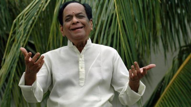 He had also played the role of 'Narada Muni,' in the cult Telugu movie 'Bhakta Prahlada'.