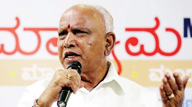 Karnataka BJP president B S Yeddyurappa on Friday said that over 20 Congress lawmakers in the state are unhappy with the incumbent government. (Photo: File)
