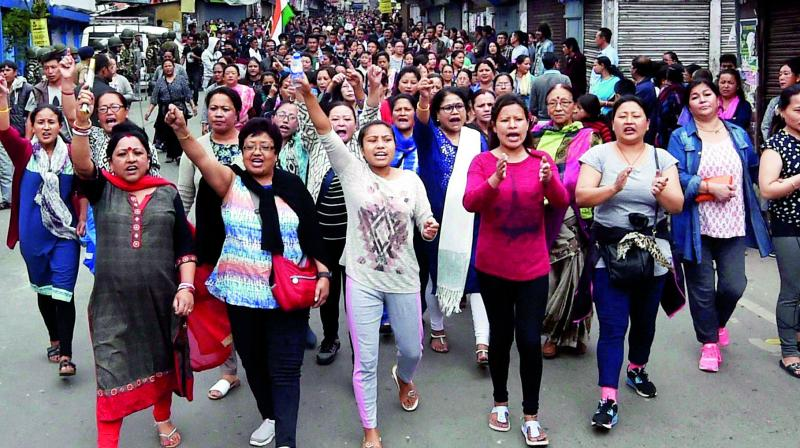 GJM has demanded that the Centre initiate a dialogue on Gorkhaland as it is the aspiration of the hill people (Photo: File | PTI)