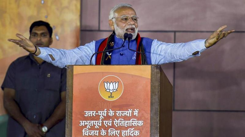 The move comes after Prime Minister Narendra Modi gave a 100-day deadline to the heads of central public sector enterprises to come up with a roadmap with measurable targets for strengthening state-owned companies and promoting development activities. (Photo: PTI)
