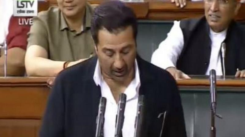 According to Lok Sabha's attendance record, Deol attended parliament for five continuous days soon after the resumption of the monsoon session but then gave it a miss for the next whole week. (Photo: ANI)