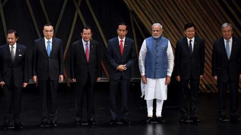 Prime Minister Narendra Modi invited ASEAN leaders as the Chief Guests at India's 69th Republic Day celebrations. (Photo: AFP)