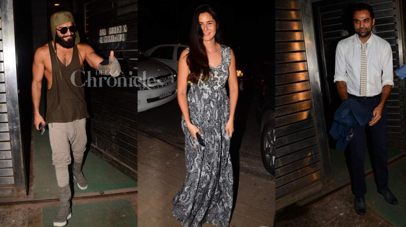 Celebrities showed up in big numbers, turning a head too many, at director Zoya Akhtar's private bash. (Photo: Viral Bhayani)
