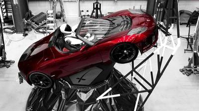 Musk, who also runs the electric car company Tesla, sent his Roadster into a long solar orbit stretching out to Mars.