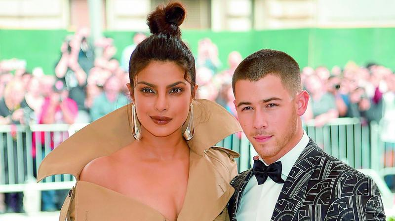 Priyanka Chopra and Nick Jonas were spotted watching Beauty and the Beast Live Concert in Los Angeles recently.