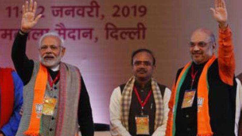 Prime Minister Narendra Modi and Amit Shah