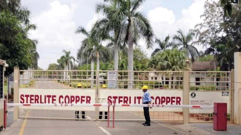 The copper major had offered to invest Rs 100 crore for the welfare of Thoothukudi in addition to the regular welfare activities being carried out by it under the Corporate Social Responsibility (CSR).
