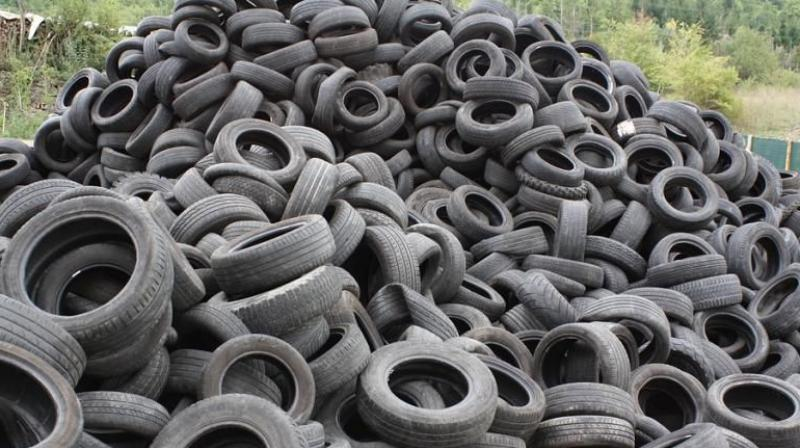 Reports claim the harm to the environment could be worse than plastic because when rubber burns, toxins that could be carcinogenic are released into the air.