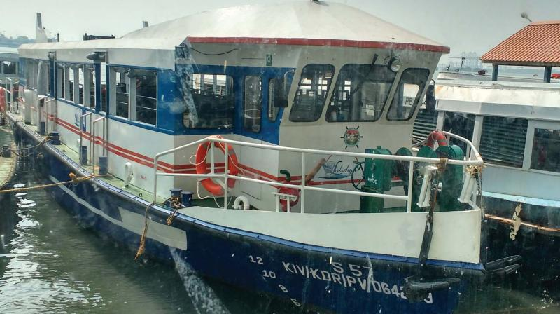 The IRS class boat is now undergoing trial in Kochi. (DC)