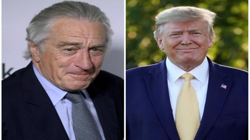 Robert De Niro and Donald Trump. (Photo: ANI)