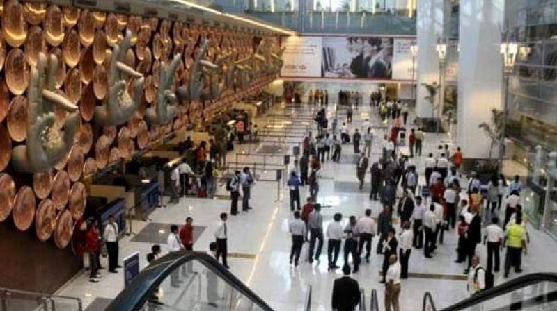 With the objective to make easy money  before his was sent away to Bagdogra for his posting, the accused, identified as Naresh Kumar, committed theft at the Indira Gandhi International (IGI) Airport when the woman passenger was waiting for her husband for their flight to Srinagar. (Representational Image | Facebook)