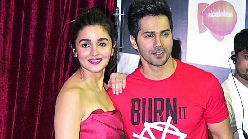 Varun Dhawan and Alia Bhatt.