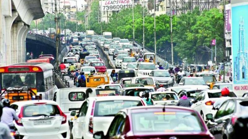Traffic Advisory issued for New Year Eve by Hyderabad Police