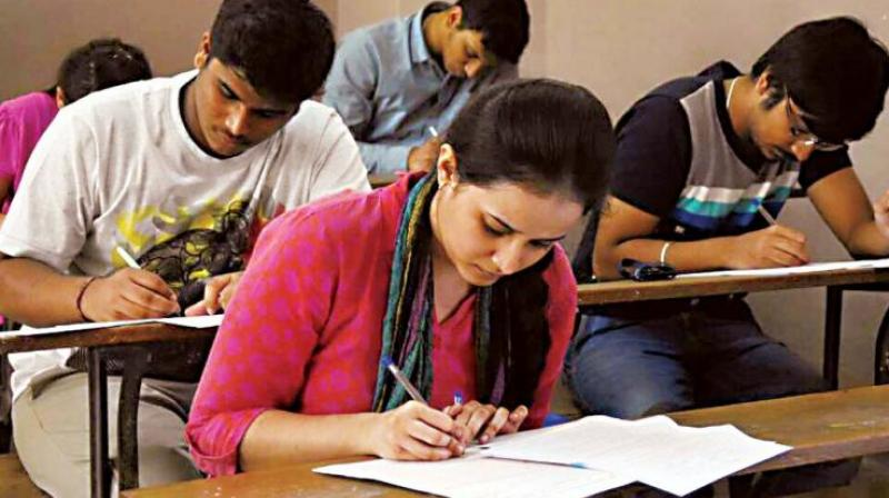 Among the 26,874 candidates, 21,060 appeared for the exam on Sunday.  (Representational image)