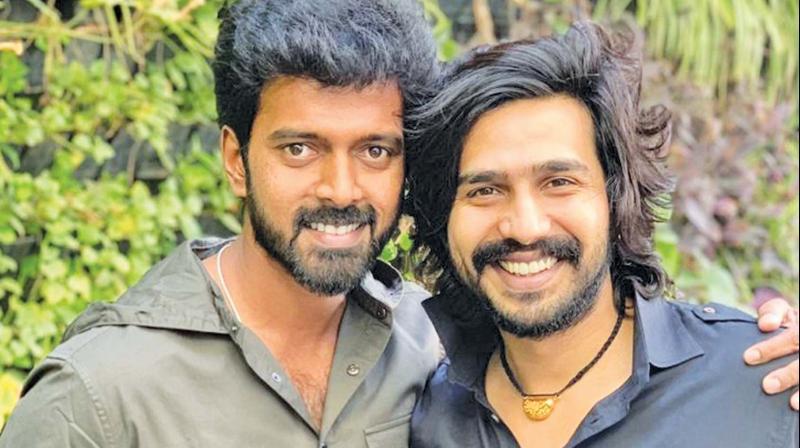 Vishnu Vishal and Vikranth