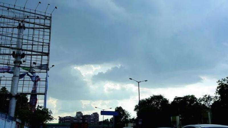 The severe weather conditions are prevailing in the state due to the development of a trough a low atmospheric pressure at 1.5 km above mean sea level from Chhattisgarh to Coastal Karnataka crossing over the parts of Telangana. (Representational Images)
