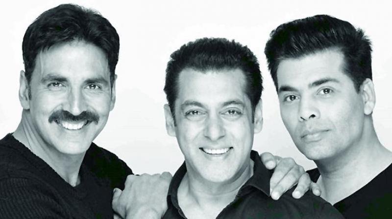 Akshay, Salman and Karan