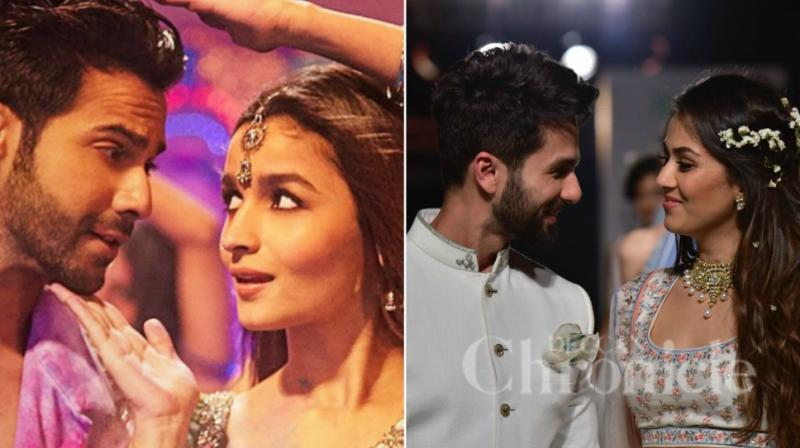 Shahid mira at lfw why they should be in next dulhania instead of varun dhawan alia bhatt in a still from badrinath ki dulhania shahid thecheapjerseys Images