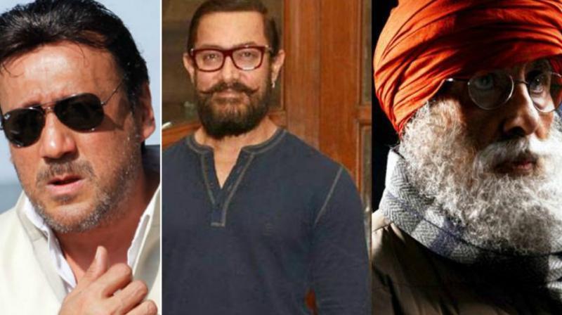Jackie Shroff, Aamir Khan, Amitabh Bachchan.