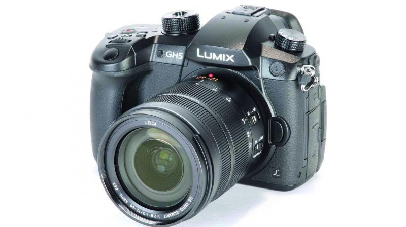 The basic Lumix GH5 body is priced at Rs 1,43,990 while it is available in a combo with a 12-60 mm Leica lens for Rs 1,88,990.
