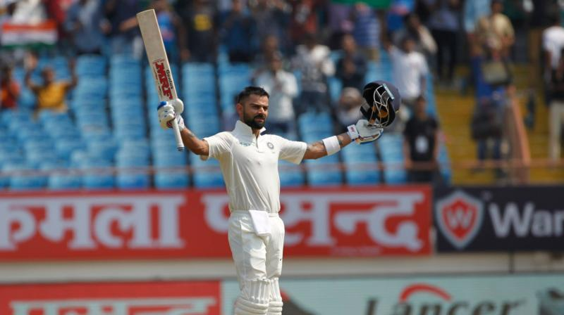 Kohli continued to break numerous records, and his latest century was his 17th as captain of the Indian team. He now has scored four hundreds in 2018 alone. (Photo: BCCI / Twitter)