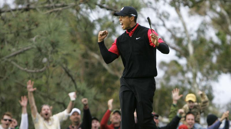 Not since the 2008 U.S. Open had Woods hoisted a major trophy while the last of his four Augusta titles came in 2005, his fifth Green Jacket leaving him one short of another Nicklaus record. (Photo: AP)