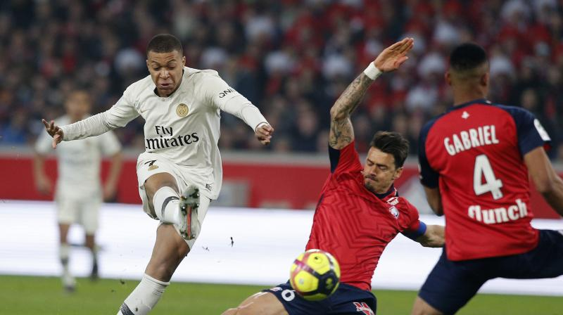 Thomas Tuchel's side could have been crowned champions in record-equalling time last weekend but failed to beat Strasbourg, and they fell short again on Sunday despite needing just a point in a match that saw them have to play with 10 men for 54 minutes and lose both captain Thiago Silva and Thomas Meunier to injury. The loss was PSG's worst domestic defeat since going down 4-0 at Bordeaux in 2009, and the first time they had conceded five goals in the league since another 5-1 defeat at Sedan way back in 2000. (Photo: AP)
