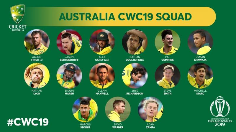 Finch also had brilliant stand together during the series against India and Pakistan. (Photo: Icc Cricket world cup/ twitter)