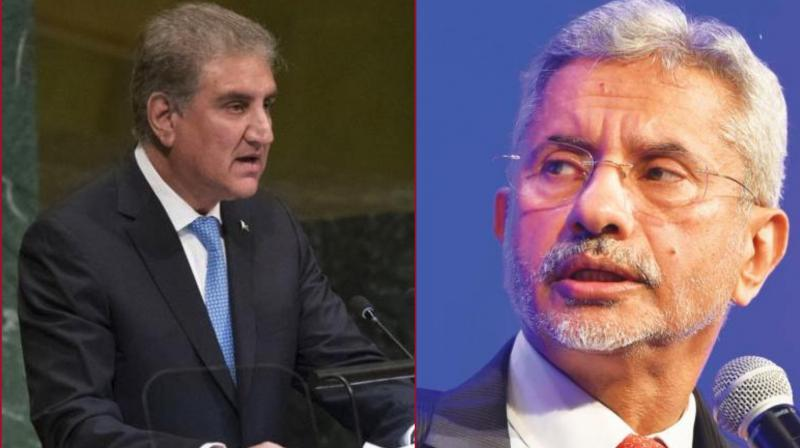 """Qureshi arrived only after Jaishankar had left the room and said that his country will not engage with India """"until and unless they lift the siege"""" in Kashmir. (Photo: File)"""