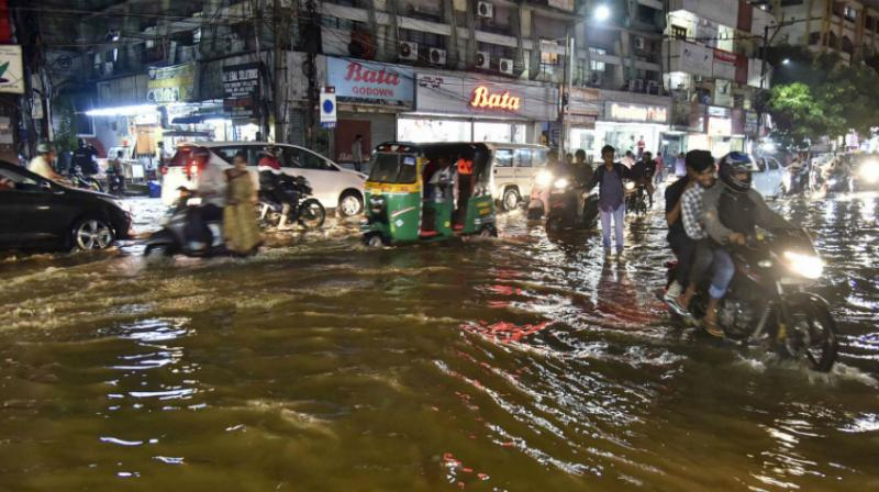 According to the Meteorological Department, light to moderate rain or thundershowers are very likely to occur at many places in Telangana over the next four days. (Photo: PTI)