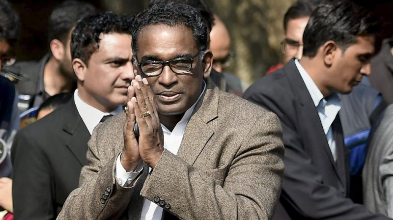 Justice Chelameswar's last sitting in the court will be on May 18 as the last working day for him falls during summer vacation. (Photo: File)