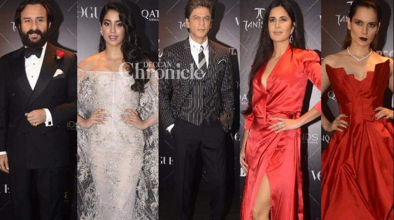 Bollywood stars were clicked at events, and other locations in Mumbai city on Tuesday as they stepped out. (Photos: Viral Bhayani)