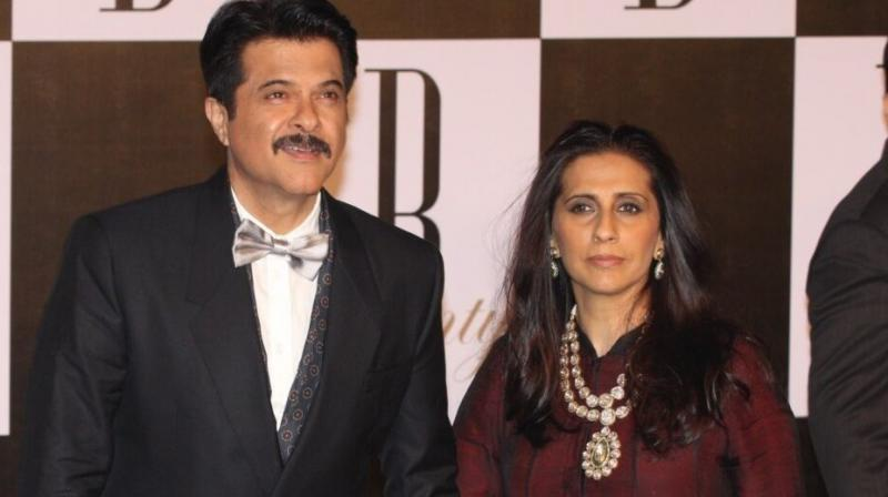 Anil Kapoor and Sunita Kapoor have three kids, all in entertainment field.