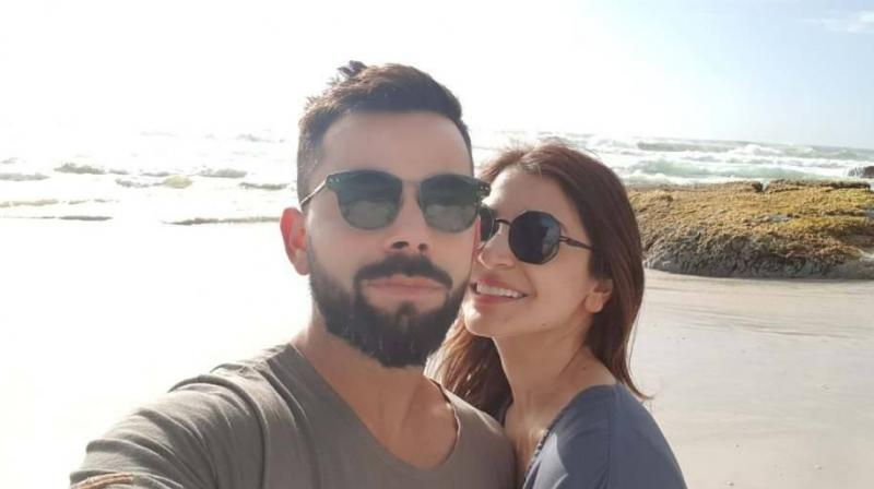 Virat Kohli, earlier on Wednesday, took to Facebook to post a photo of him with Anushka spending their time together in South Africa.(Photo: Facebook / Virat Kohli)