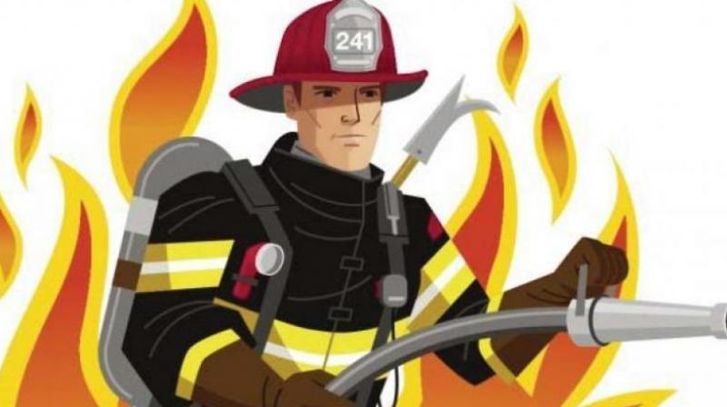 Totally, 22 fire tenders were put to service and around 80 firemen fought the fire for more than eight hours. (Representational Image)