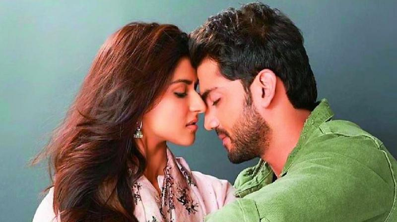 A still from the movie Notebook, starring Pranutan Bahl and Zaheer Iqbal.