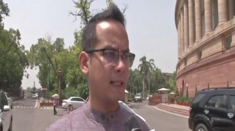 Gogoi (37), who is a permanent invitee to Congress Working Committee (CWC) - the party's highest decision-making body - said unemployment and agrarian distress were realities of the country and the Congress was raising them continuously during the campaign. (Photo: ANI)