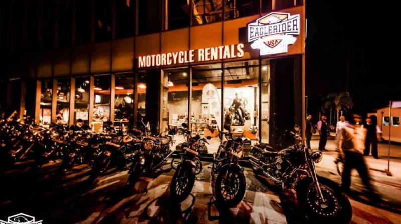 EagleRider showroom