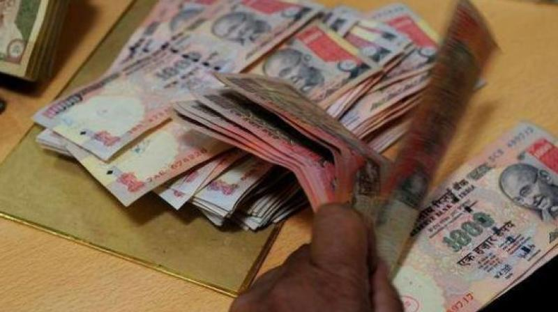 Yesterday, the rupee had closed 5 paise higher at 66.68 against the US dollar on sustained selling of the American currency by banks and exporters.
