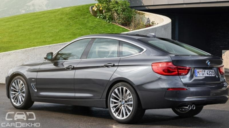 bmw launches 3 series gt facelift at rs lakh. Black Bedroom Furniture Sets. Home Design Ideas