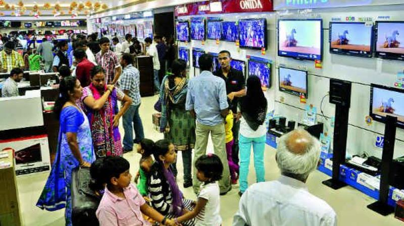 TVs, air conditioners, washing machines, inverters, refrigerators, electric fans and cooking appliances may become cheaper with the incidence of taxes on them declining from 29 per cent to 26 per cent post implementation of the GST.