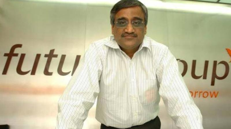 Future Group CEO Kishore Biyani